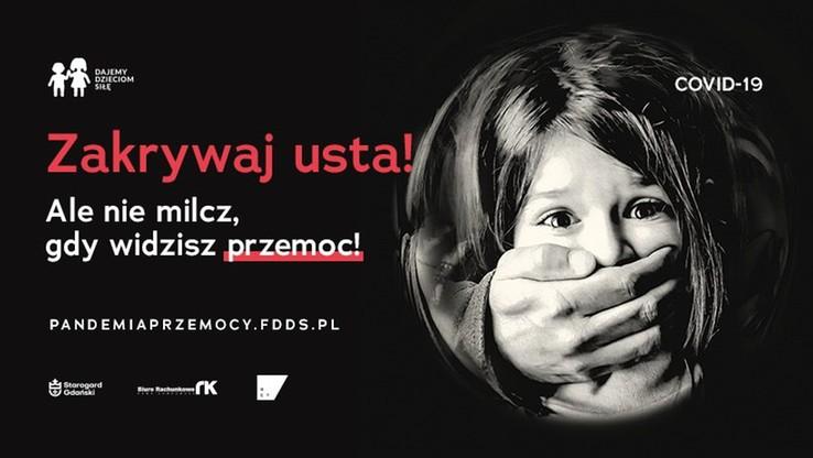 """""""Zakrywaj usta, ale nie milcz, gdy widzisz przemoc"""". Nowa kampania przeciw przemocy wobec dzieci"""