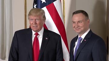 Duda porozmawia z Trumpem o broni jądrowej? Szef BBN ucina spekulacje