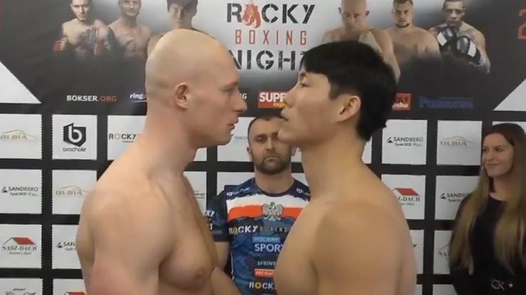 Rocky Boxing Night w Stężycy: Wyniki ważenia