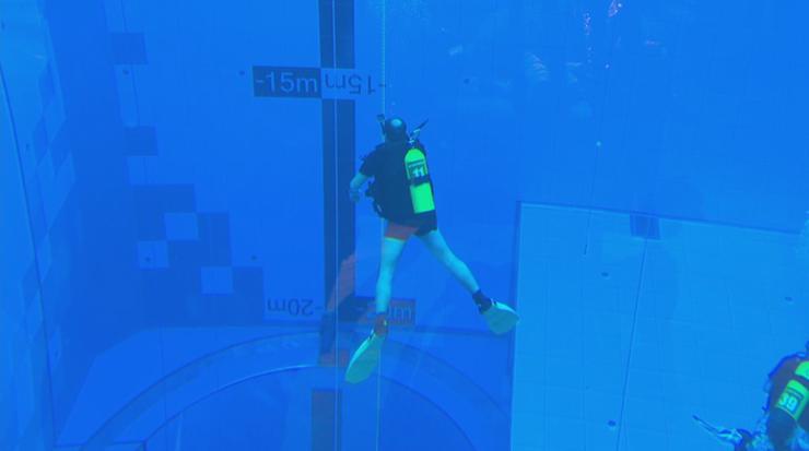 Najgłębszy basen na świecie. Otwarto go na Mazowszu [WIDEO]
