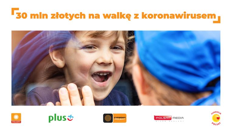 Polsat wspiera walkę z pandemią koronawirusa