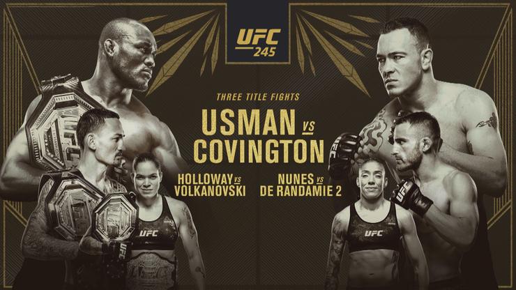 UFC 245 w Las Vegas: Transmisja w Polsacie Sport Extra