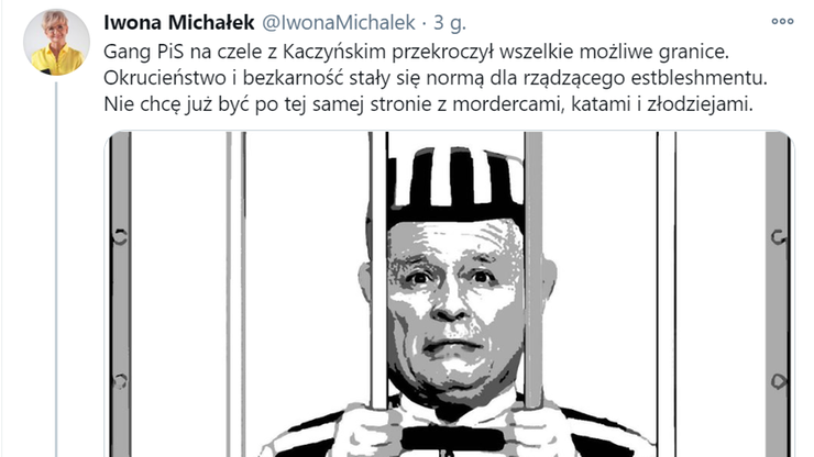"""Twitterowy profil wiceminister zhakowany. Pojawiły się posty o """"gangu PiS"""""""