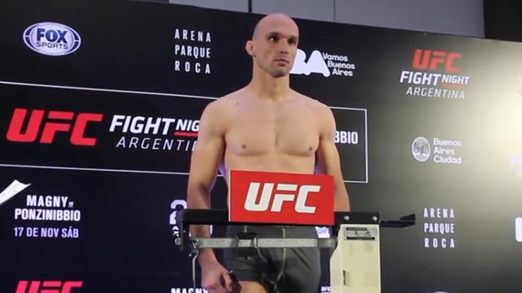 UFC w Buenos Aires: Fabiński w limicie!