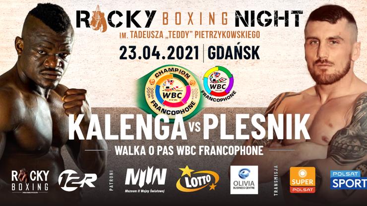 Rocky Boxing Night: Zmiana rywala w walce wieczoru. Z kim zmierzy się Youri Kalenga?