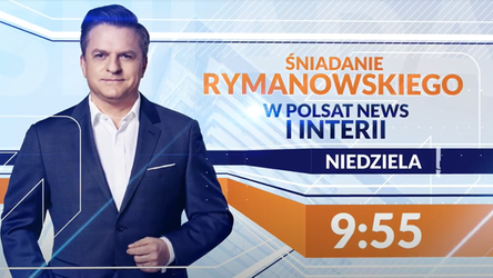 Śniadanie Rymanowskiego w Polsat News i Interii