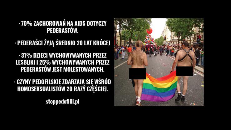 Dwóch nagich mężczyzn i kolorowa flaga. Poznań zawiadamia prokuraturę ws. plakatu na kamienicy