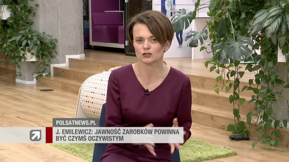 Gość Wydarzeń - Jadwiga Emilewicz