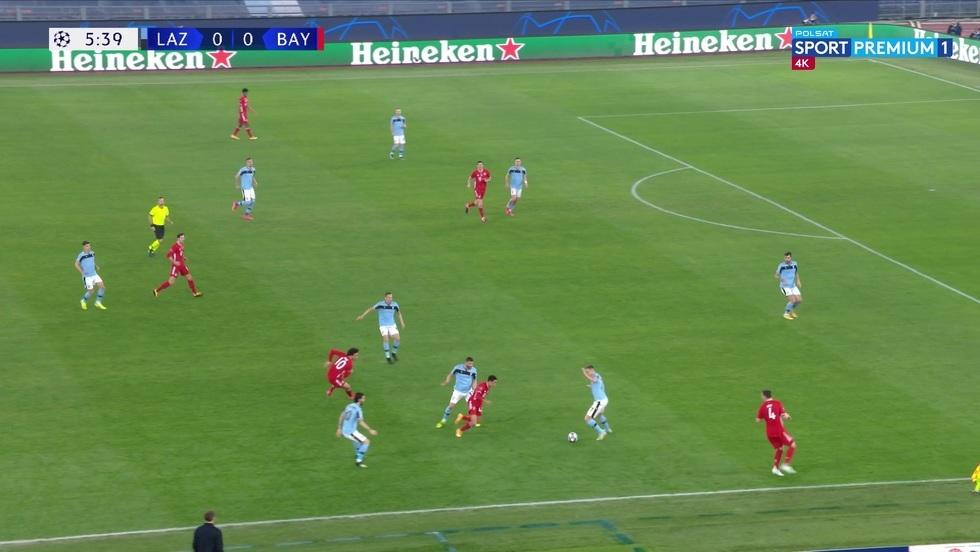 Lazio Rzym - Bayern Monachium 4K