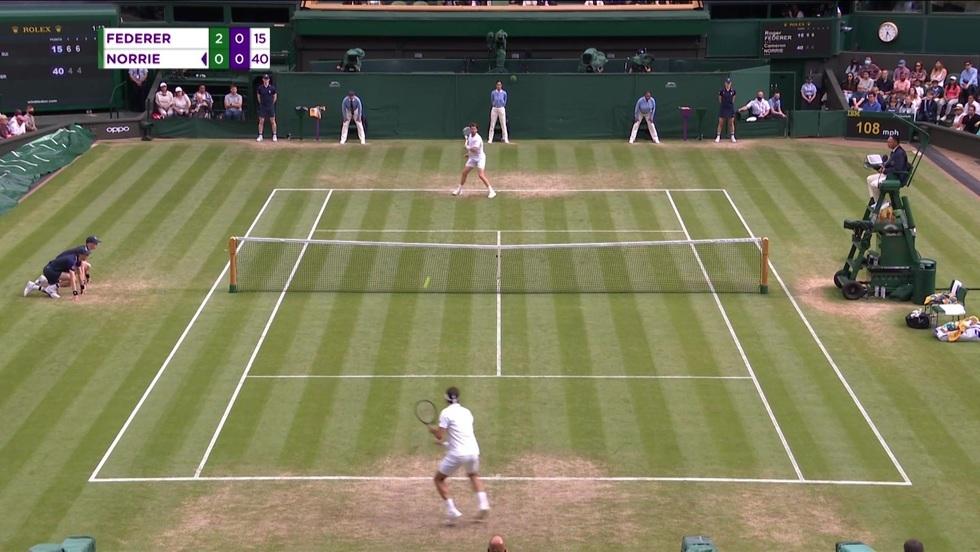 Roger Federer - Cameron Norrie