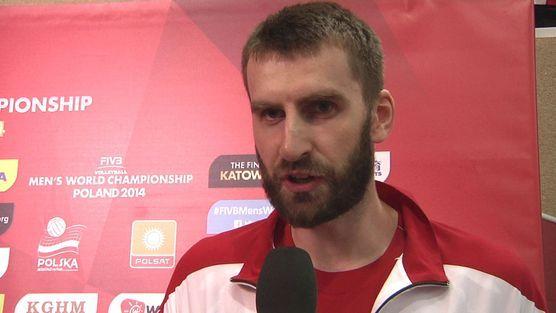 Marcin Możdżonek: Przed turniejem srebrny medal brałbym w ciemno