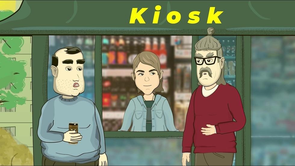 Scenki z życia - Kiosk