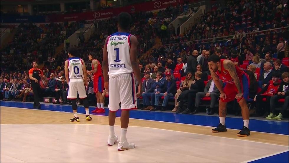 CSKA Moskwa - Anadolu Efes Stambuł