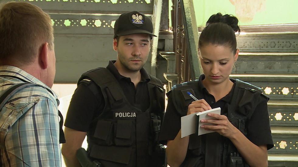 Policjantki i policjanci - Odcinek 110